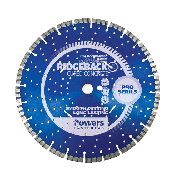 NON Abrasive Segmented Diamond Demolition Blade