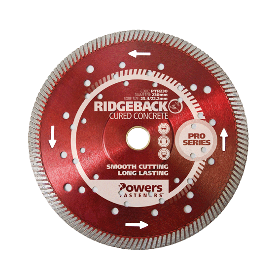 Turbo Rim Diamond Blades