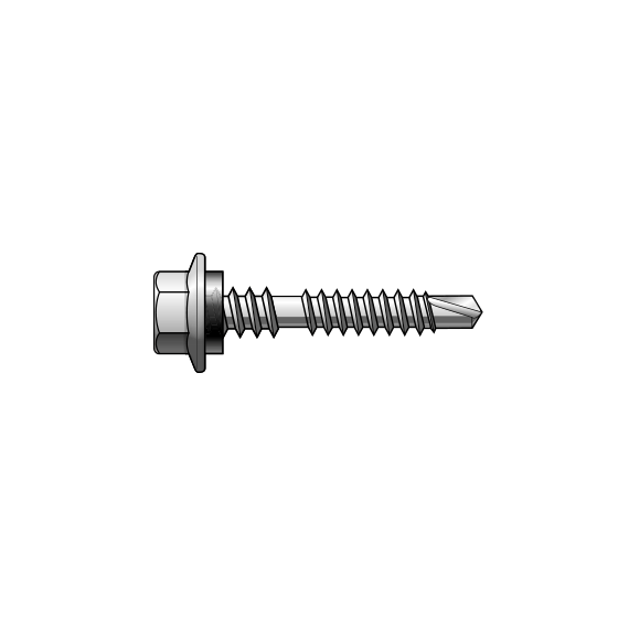 12-14x42 Metal SD Hex Head Roofing Screw