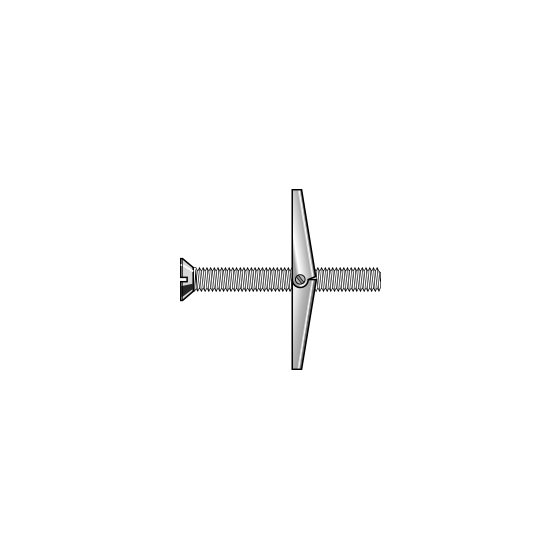 Spring-Toggle Countersunk