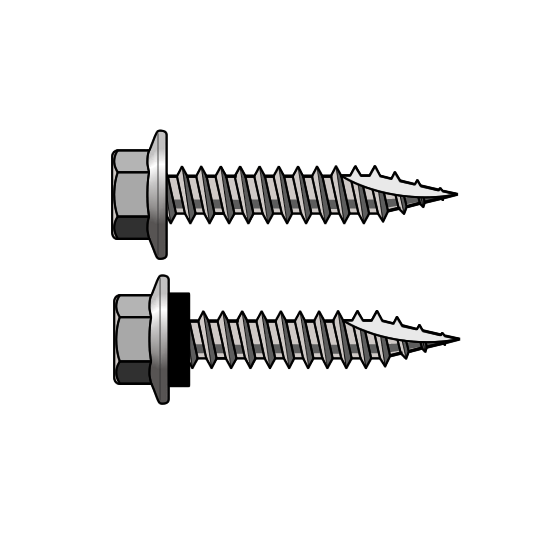 T17 10 Gauge Hex Head Self Drilling Screws