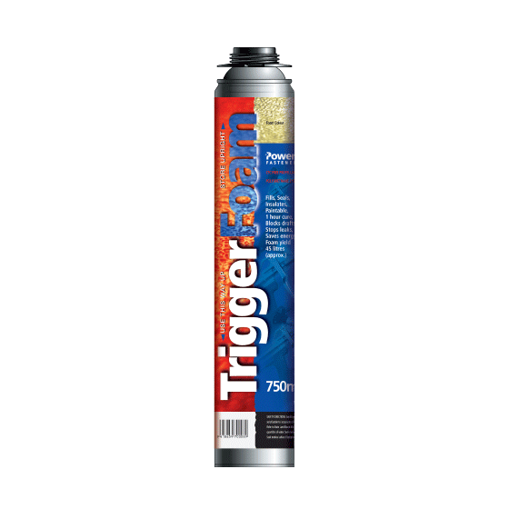 TriggerFoam 750ml (Expanding Foam)
