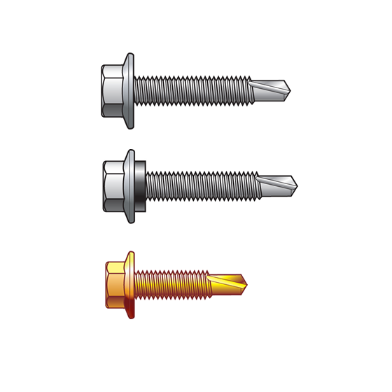 Fine Thread Hex Head Screws